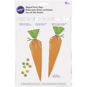 Carrot Treat Bags, 15-Ct.