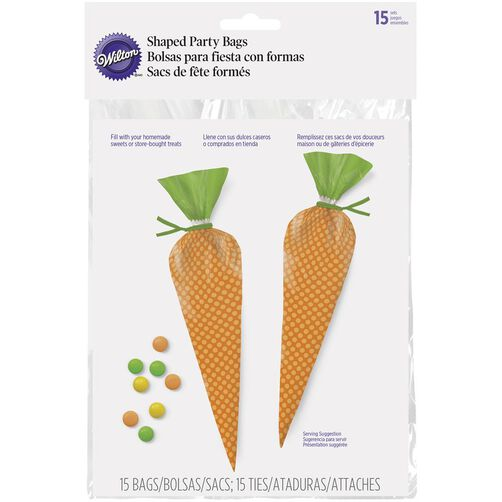 Carrot Treat Bags, 15-Ct.