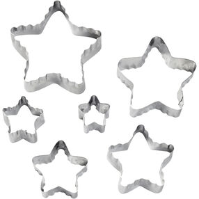 Wilton Star Fondant Double Cut-Outs Set 417-2584