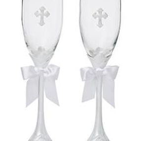 Faith Wedding Day Collection Toasting Glasses