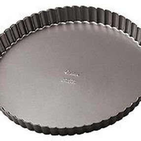 9 x 1 1/8 in. Excelle Elite Non-Stick Tart/Quiche Pan