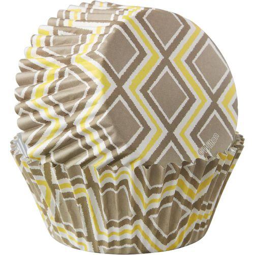 Ikat Pattern Cupcake Liners