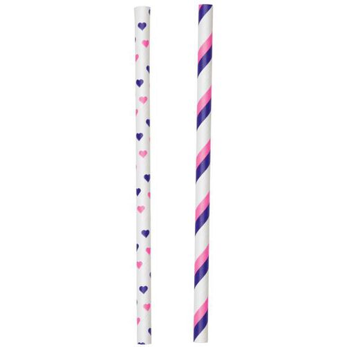 Colored Lollipop Sticks Pink/Purple