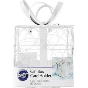 Gift Shape Reception Gift Card Holder in packaging