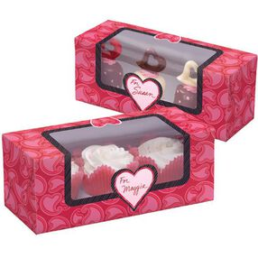 You Bake Me Smile Cupcake Box