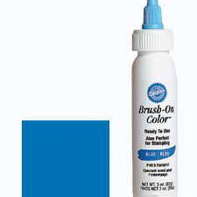 Blue Brush-On Color