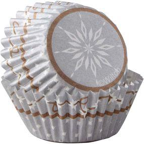 Wilton Snowflake Mini Cupcake Liners