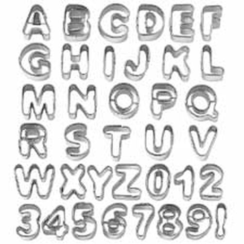 37 Piece Alphabet & Number Cut-Outs