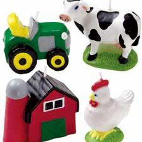 Farm 4-Piece Candle Set