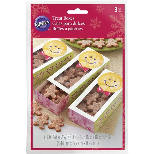 Gingerbread Boy Sliding Cookie Boxes