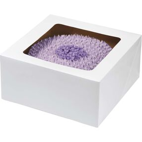 12 x 12 Corrugated Window Cake Boxes