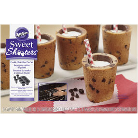 Sweet Shooters Cookie Shot Glass Pan Set