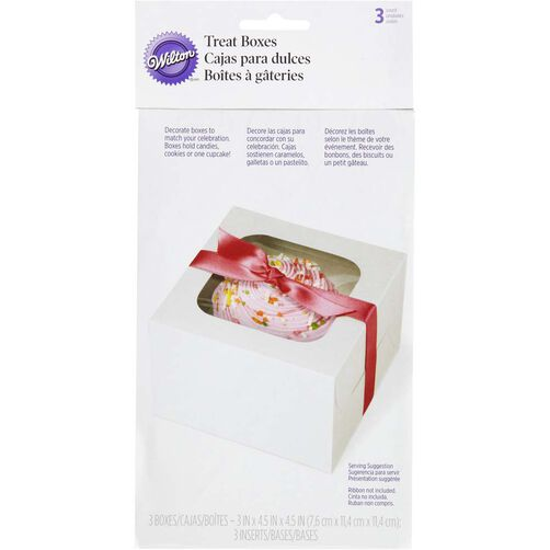 White Cupcake Box