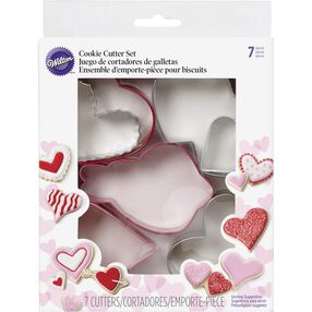 Valentine's Heart Cookie Cutter Set