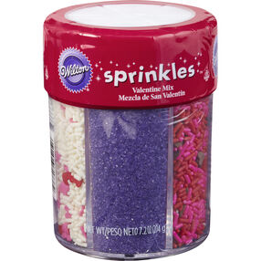 6-Mix Sweetheart Sprinkle Assortment