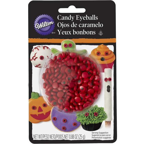 Wilton Red Mini Candy Eyeballs