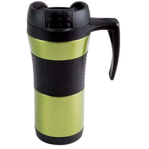Flair Stainless Steel Metallic Green Mug