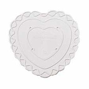 8 in. Decorator Preferred Heart Separator Plate