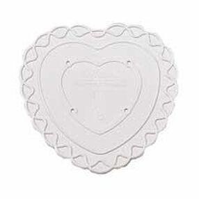 14 in. Decorator Preferred Heart Separator Plate