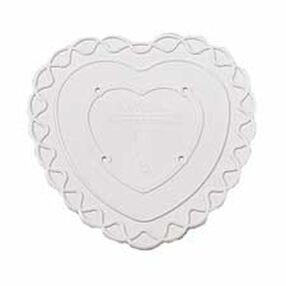 18 in. Decorator Preferred Heart Separator Plate