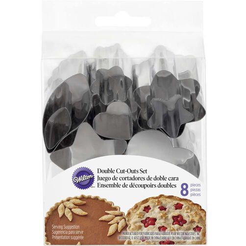 Wilton Double Cut Out Pie Crust Cutters