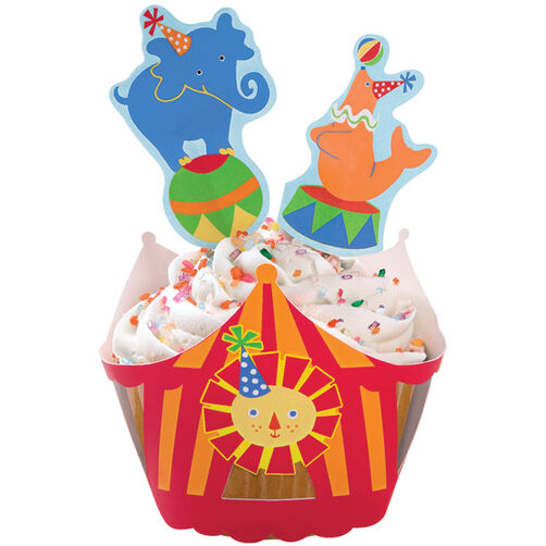 Big Top Cupcake Wraps'n Pix