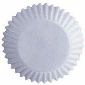 Mini White Baking Cups