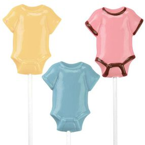 Wilton Baby T-Shirt Lollipop Mold 2115-0031