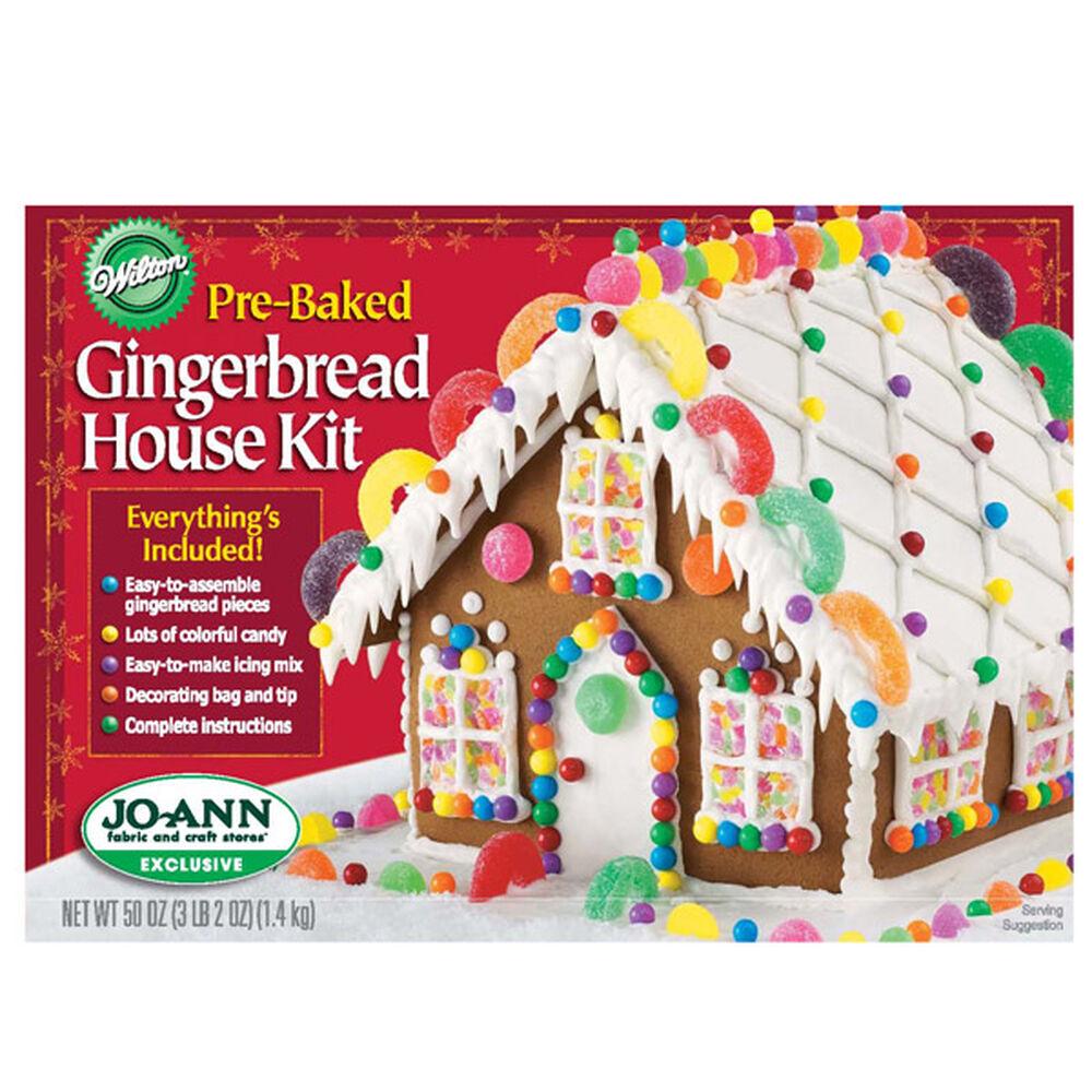 Pre Baked Gingerbread House Kit Wilton