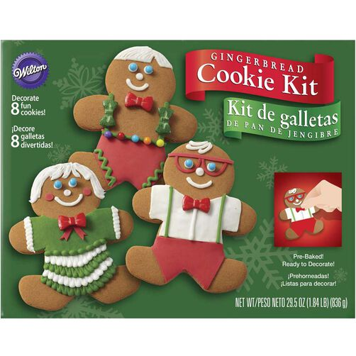 Gingerbread Boy Cookie Decorating Kit