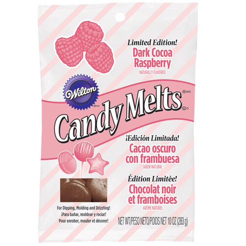 Limited Edition Dark Cocoa Raspberry Candy Melts® Candy