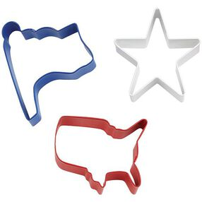 Patriotic Cookie Cutter Set