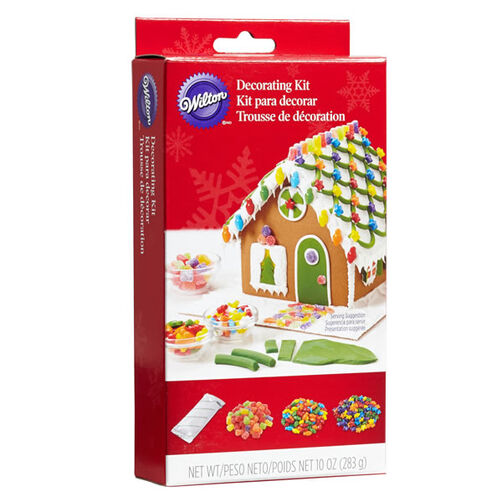 Gingerbread house decorating kit wilton