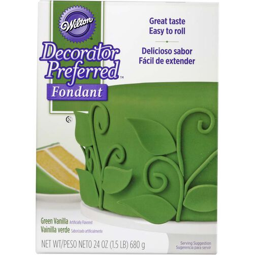Decorator Preferred Green Fondant