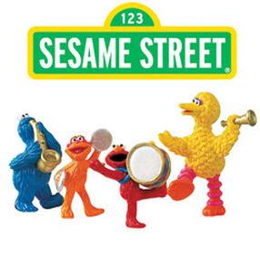 Sesame Street Parade Cake Top Set