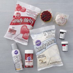Wilton Red and Silver Team Color Kit