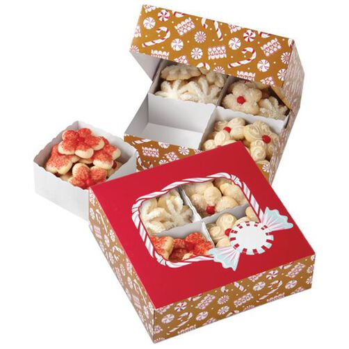 Peppermint Cookie Sampler Box Kit