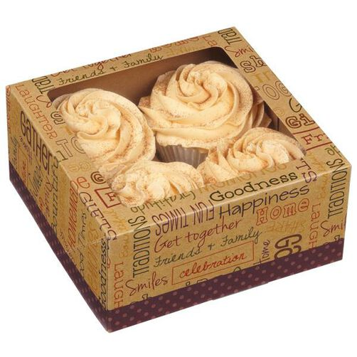 Autumn Cupcake Box