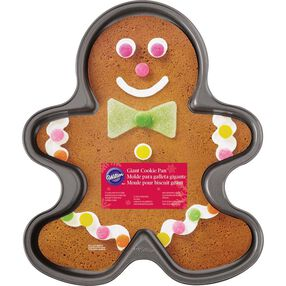 Wilton Gingerbread Boy Giant Cookie Pan