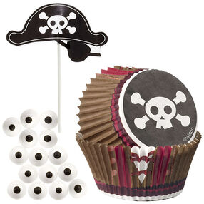Wilton Pirate Cupcake Decorating Kit 415-2194