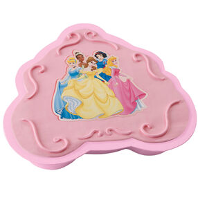 Disney Princess Disposable Cake Pan and Topper