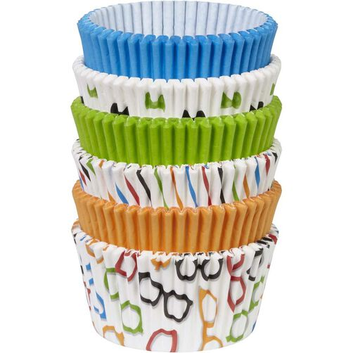 Bow Ties & Basics Baking Cups Value Pack