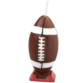 Footballs 6-Piece Candle Set