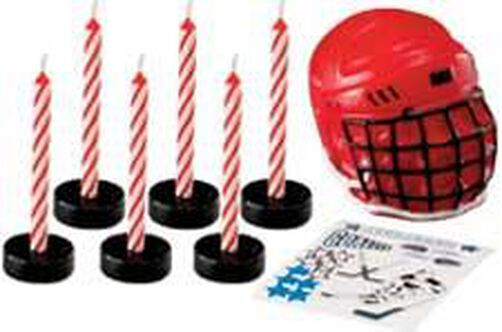 Hockey Candle Set