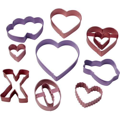Valentine's Cookie Cutter Set