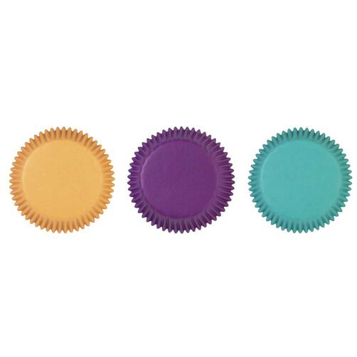Assorted Jewel Colors Cupcake Liners