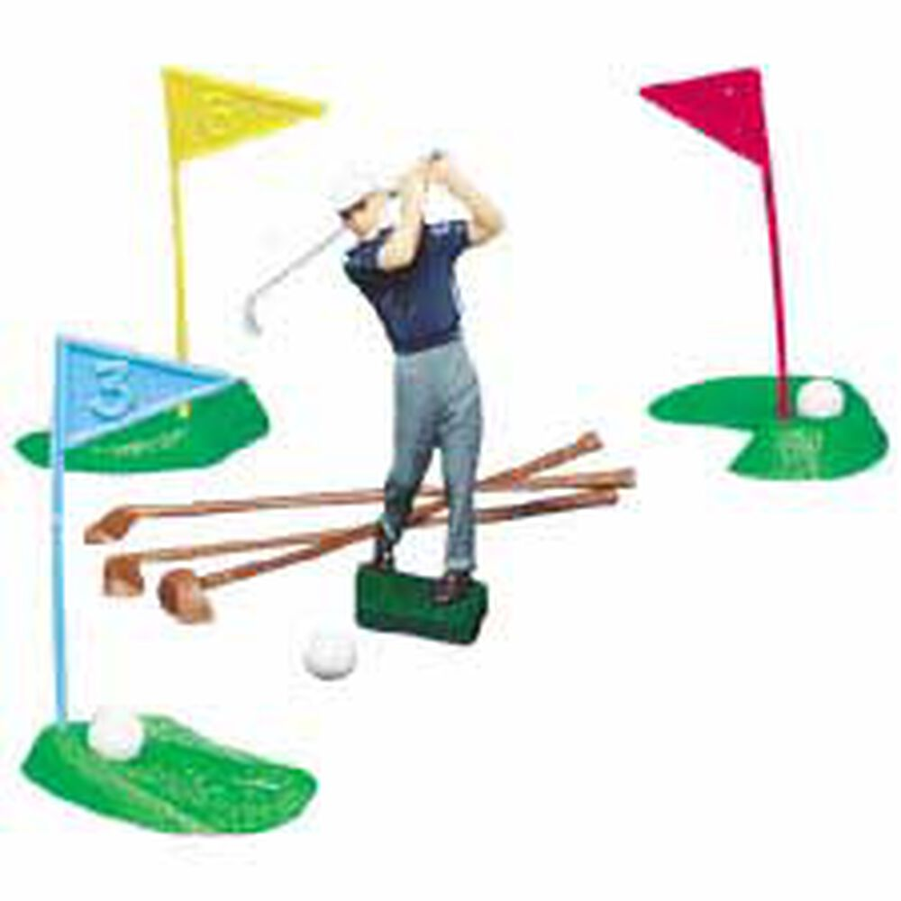 Cake Decorating Golf Figures : Golf Set Wilton
