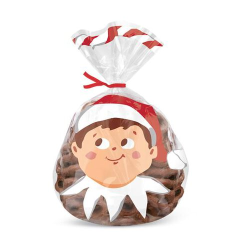 The Elf on the Shelf Shaped Party Bags, 12-Ct.