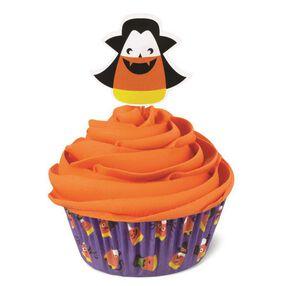 Jack-O-Lantern Cupcake Combo Pack