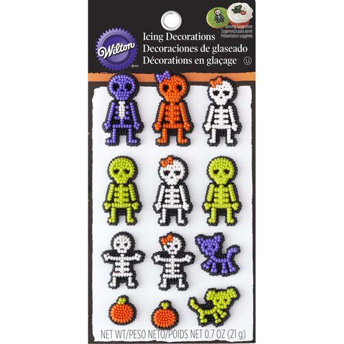 Skeleton Edible Cupcake Toppers